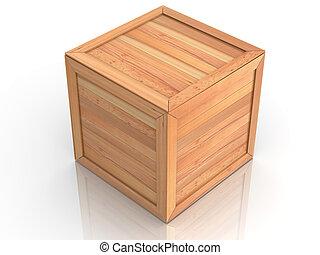 Crate. 3d