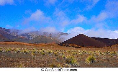 crater floor - inside haleakala\\\'s crater