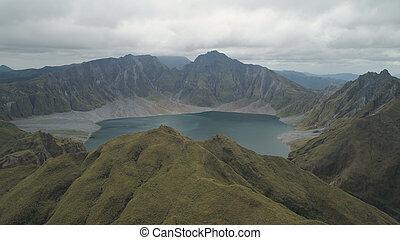 Crater Lake Pinatubo, Philippines, Luzon.