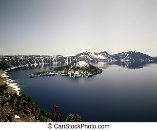 Crater Lake, Wizard Island, Oregon