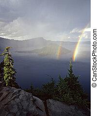 Crater Lake5Rainbows