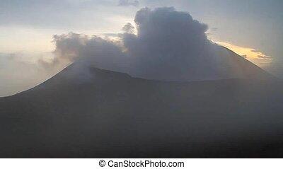 Crater of Telica volcano, Nicaragua