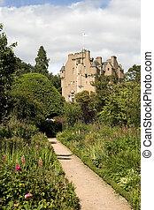 Crathes Castle in Scotland
