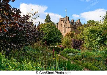 Crathes Castle in the Grampians region of Northern Scotland