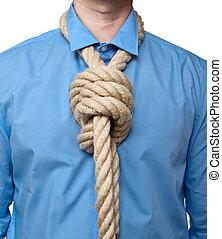 cravate, boucle
