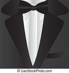 cravate, formel, complet