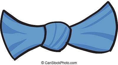 cravatta, arco, icona