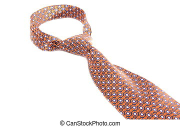 cravatta, bianco