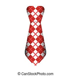 cravatta, maschio, moda, isolato, icona