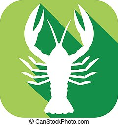 crawfish flat icon