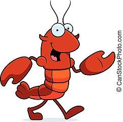 Crawfish Walking