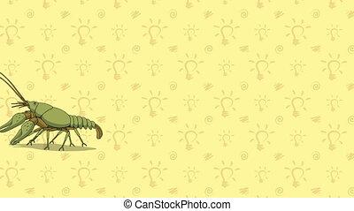 Crayfish. English ZOO Alphabet - letter C - Animated English...