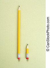 crayon, comparison.