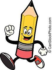 crayon, courant
