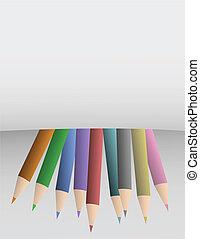 crayon, couverture