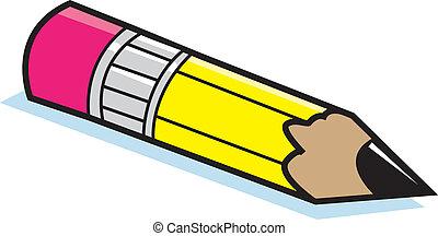 crayon, dessin animé