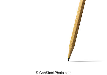 crayon, fond blanc