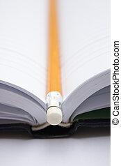 crayon, livre