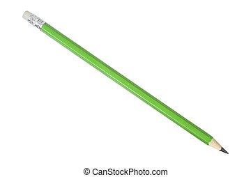 crayon, vert