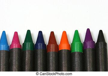 Crayons black