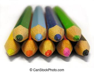 Crayons - Colorful crayons