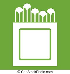 Crayons icon green