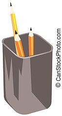 crayons, vecteur