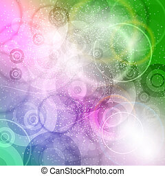 Crazy Abstract - Abstract background. Vector elements as...