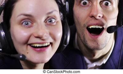 Crazy Call Center Operator