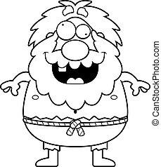 Crazy Cartoon Hermit