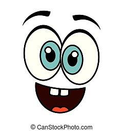 crazy face emoticon icon