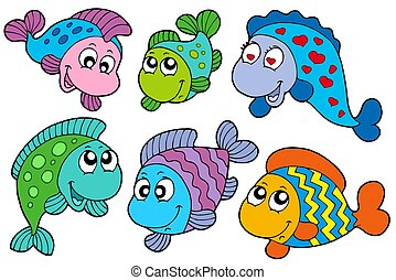 Crazy fishes collection