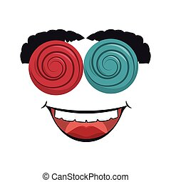 crazy funny mask disguise - crazy funny mask smiling...