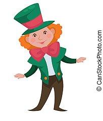 Crazy hatter Alice in Wonderland fairy character - Alice in...