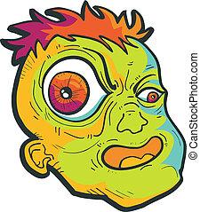 Crazy monster - Creative design of crazy monster