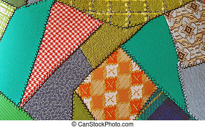 crazy patchwork quilt design