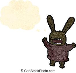 crazy rabbit cartoon