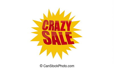 Crazy sale design, Video Animation HD1080