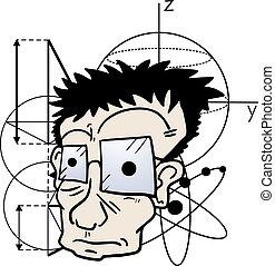 Crazy scientific - Creative design of crazy scientific