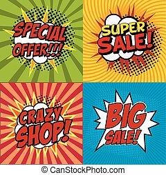 crazy shop poster