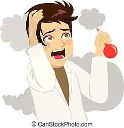 Crazy Shouting Scientist