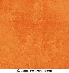 Crazy Summer Textured Orange Solid Background