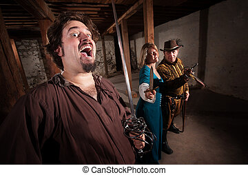 Crazy Swashbucklers with Weapons - Crazy swashbuckler and ...