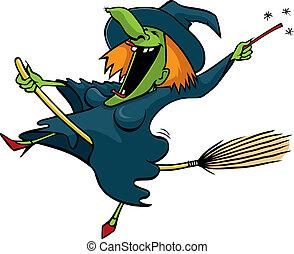 Crazy Witch 1