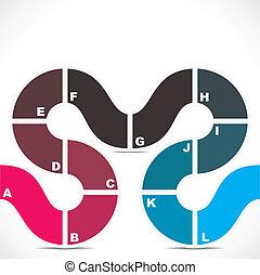 creaitve design infographic