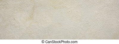 background of cream amate bark paper handmade created in Mexico, long banner format