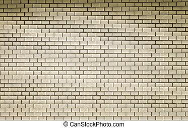 Cream Block wall pattern