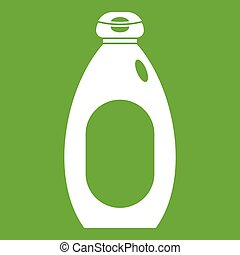 Cream bottle icon green
