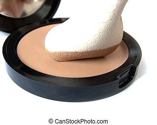 cream compact - make-up