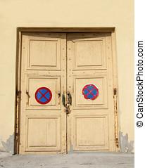 Cream Exterior Doors